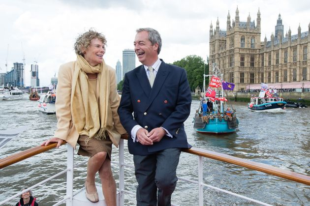 Kate Hoey and Nigel Farage appeared together repeatedly in their cross-party promotion of