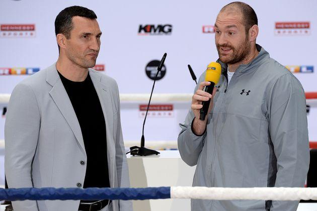 Wladimir Klitschko and Tyson Fury were due to fight on 29