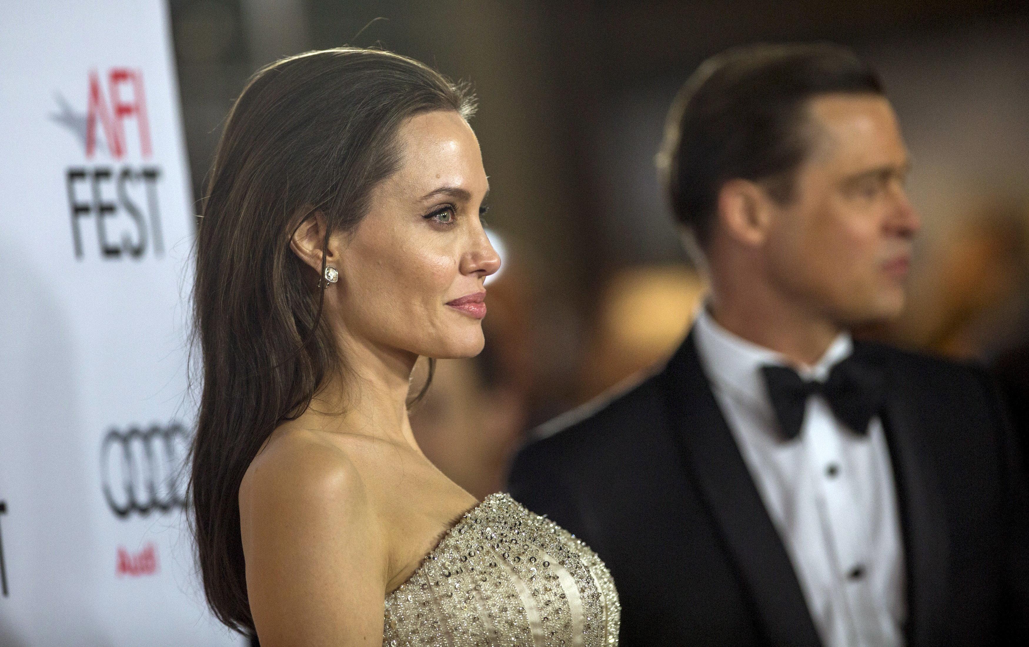Angelina Jolie Reportedly Granted Custody In Temporary Divorce