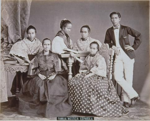 Chinese & Mexican Western Family