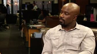 Mike Colter discuss the shows use of the controversial term