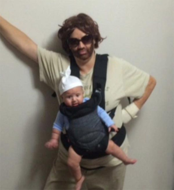 16 Brilliant Ways To Incorporate Your Baby Into Your