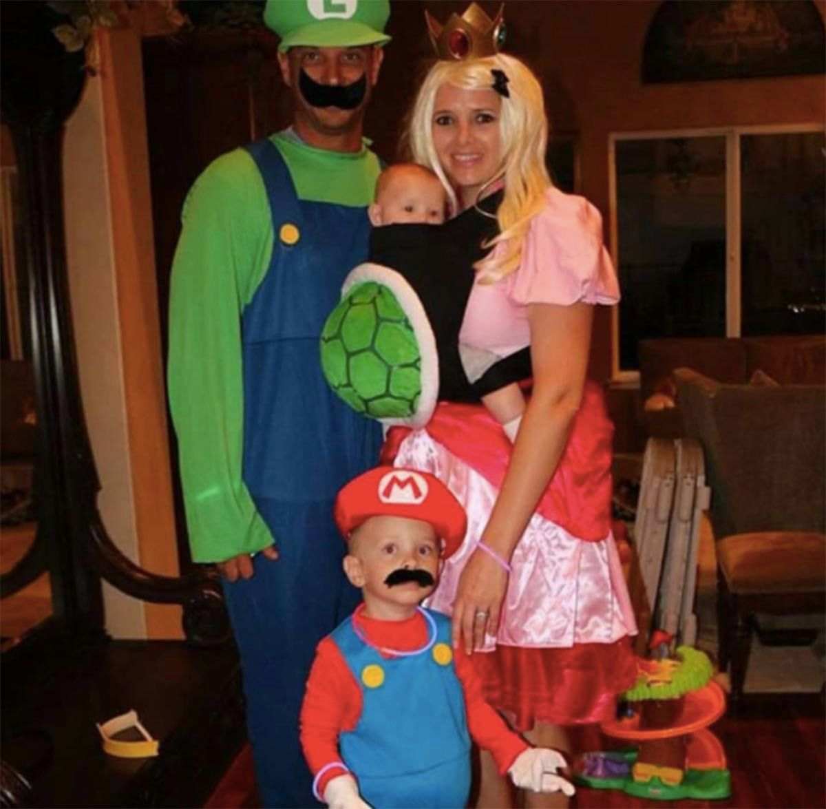 Super Mario Bros.  sc 1 st  HuffPost & 16 Brilliant Ways To Incorporate Your Baby Into Your Halloween ...
