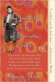 """<em>The Immortal Life of Henrietta Lacks</em> is a remarkable feat of investigative journalism and a moving work of narrativ"