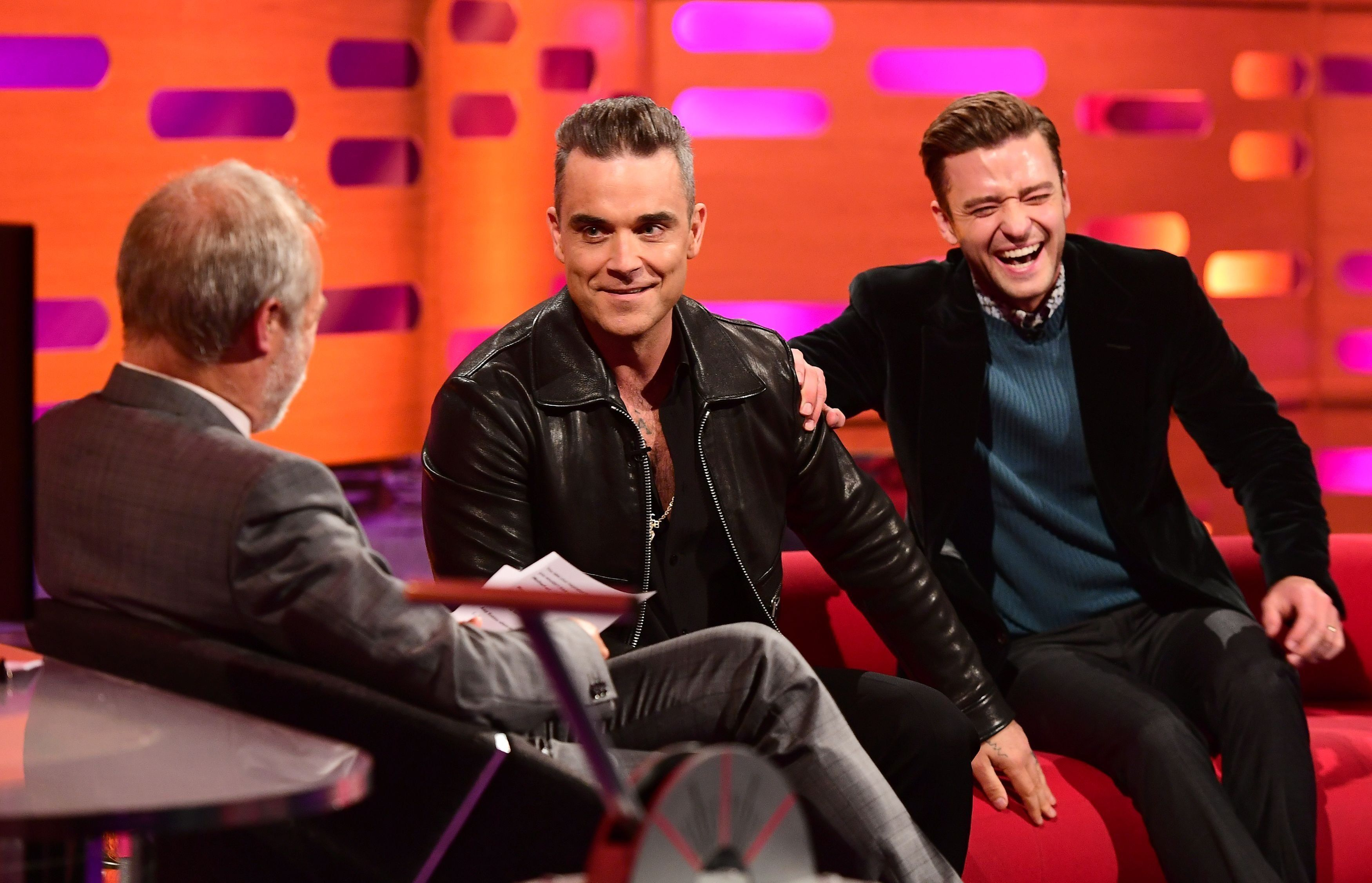 Robbie Williams Told A Sex Story On 'Graham Norton' And It Was Next-Level