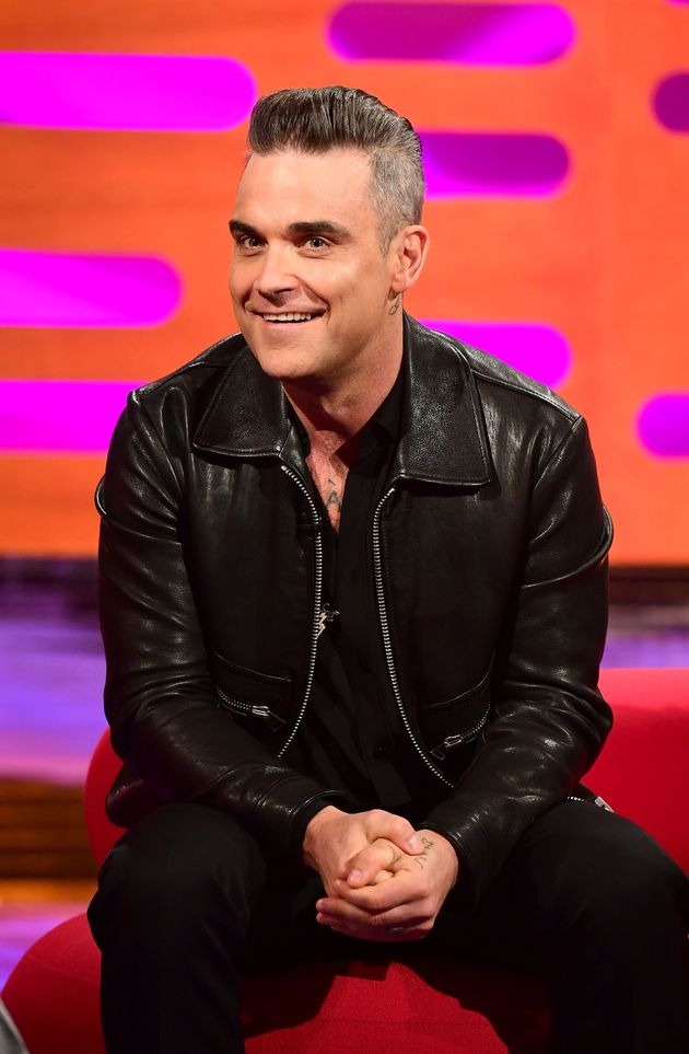 Robbie Williams appeared on 'The Graham Norton