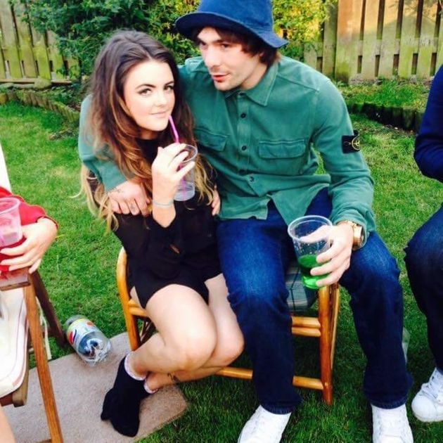 Towell and his girlfriend Chloe