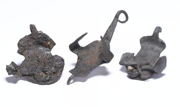Roman iron horse shoes or
