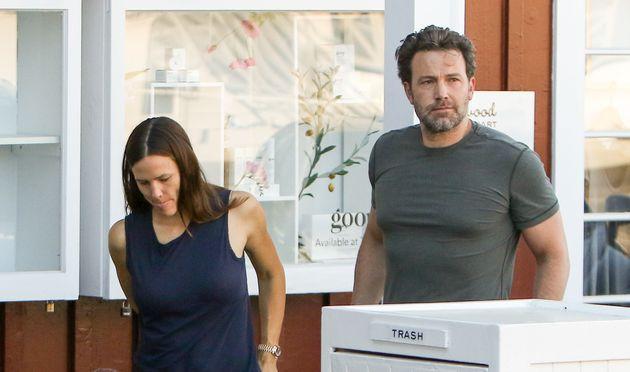Jennifer Garner and Ben Affleck step out in Los Angeles onSeptember 26,
