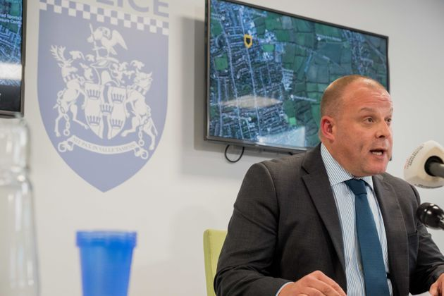 Detective Superintendent Chris Ward has released descriptions of the two men police are hunting over...