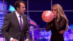 We Could Watch Britney Spears Singing 'Shake It Off' On Helium Till The World