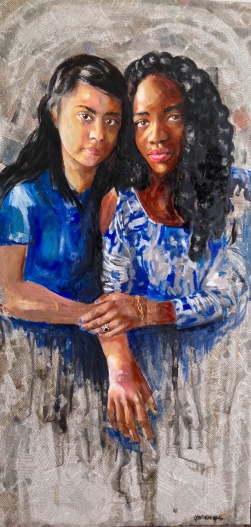 Nour and Livia, by LydiaEmily