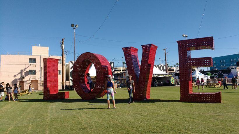 Laura Kimpton's Love appears courtesy The Venetian Las Vegas.