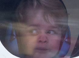 Prince George Bids Canada One Last Adorable Farewell From Window
