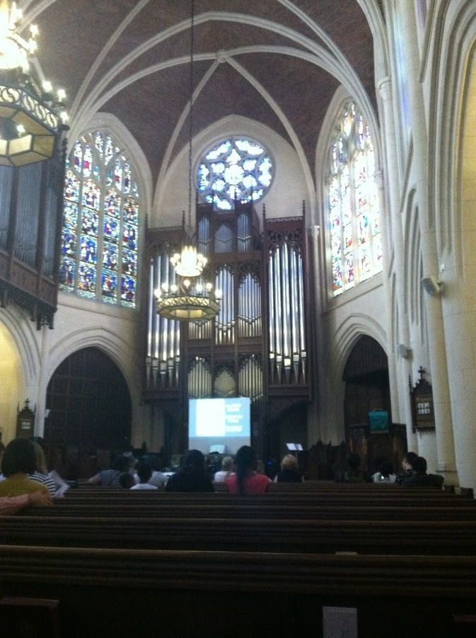 Inside The American Church in Paris