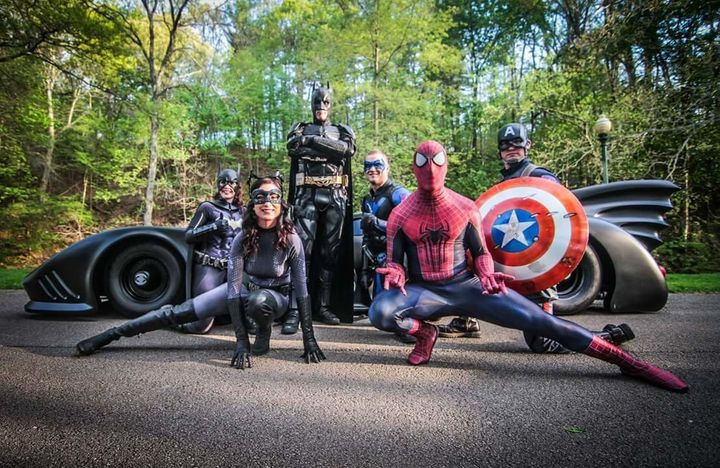 Buckland, who is seen in character here, said Captain America might also attend Jacob's funeral.