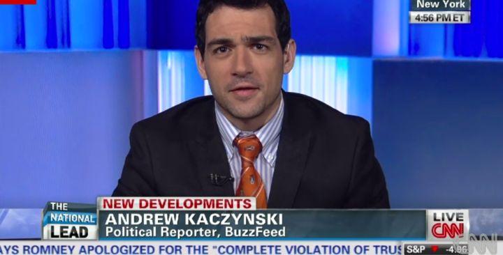 BuzzFeed's Andrew Kaczynski joins CNN.