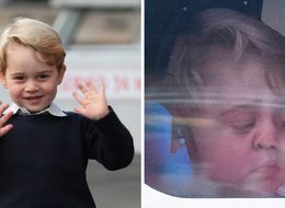 Prince George's Goodbye To Canada Was Simply Adorable