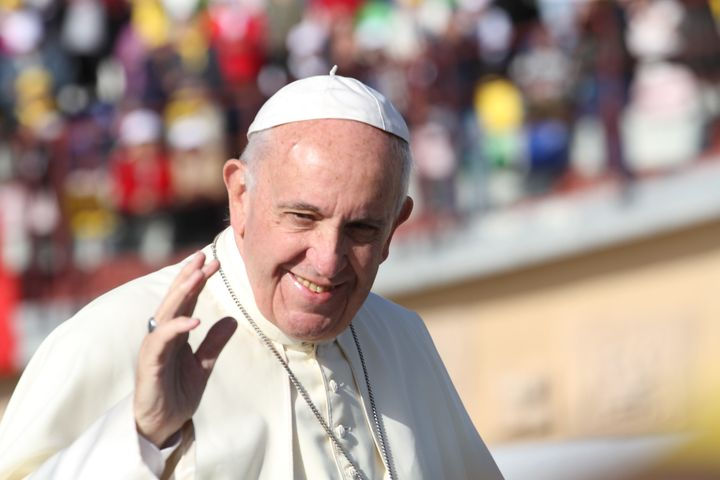 Pope Francis is telling American Catholics to pray before they vote.