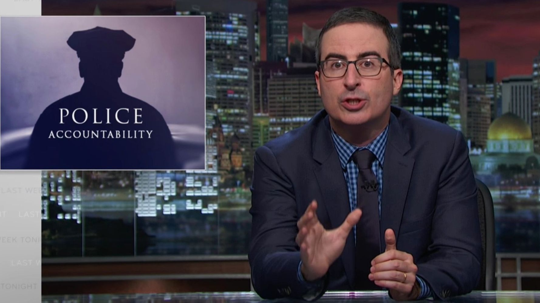 John Oliver Shows How Police Problems Go Far Beyond 'A Few Bad Apples'