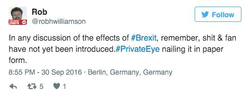 Private Eye Article Is 'Spot On' Mocking People Who Wrongly Think Britain Is