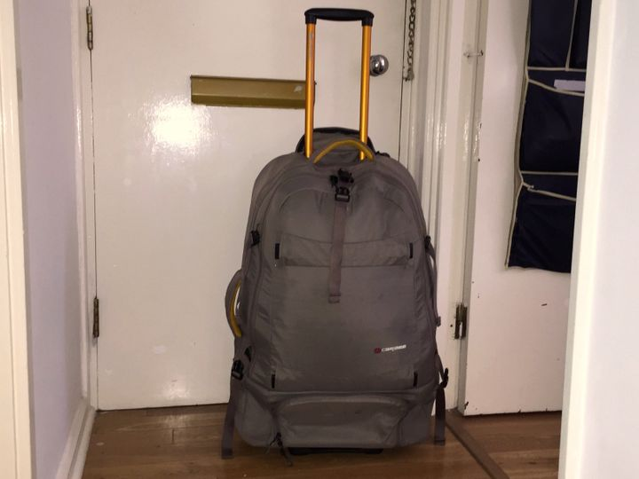 Mytrolley case can convert into a backpack, so I cantravel fromone place to another with relative ease &mda
