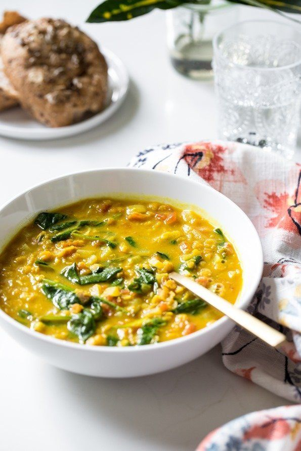 """<strong>Get the <a href=""""http://ohsheglows.com/2016/04/03/glowing-spiced-lentil-soup/"""" target=""""_blank"""">Glowing Spiced Lentil"""