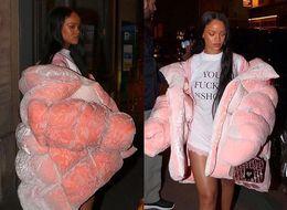 10 Times Rihanna Dressed Like A Human Marshmallow