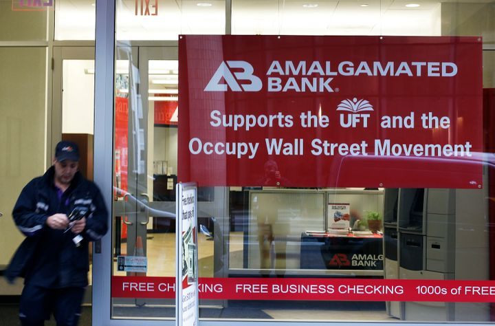 Union-owned Amalgamated Bank says it doesn't have the quotas or incentive systems that other banks employ.