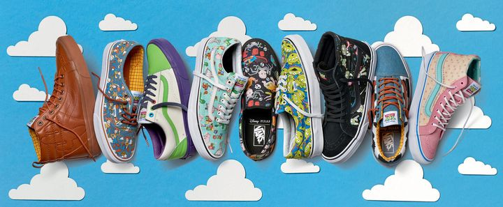 5615cc842eb1d9 Vans  New  Toy Story  Shoe Collection Goes To Infinity And Beyond ...