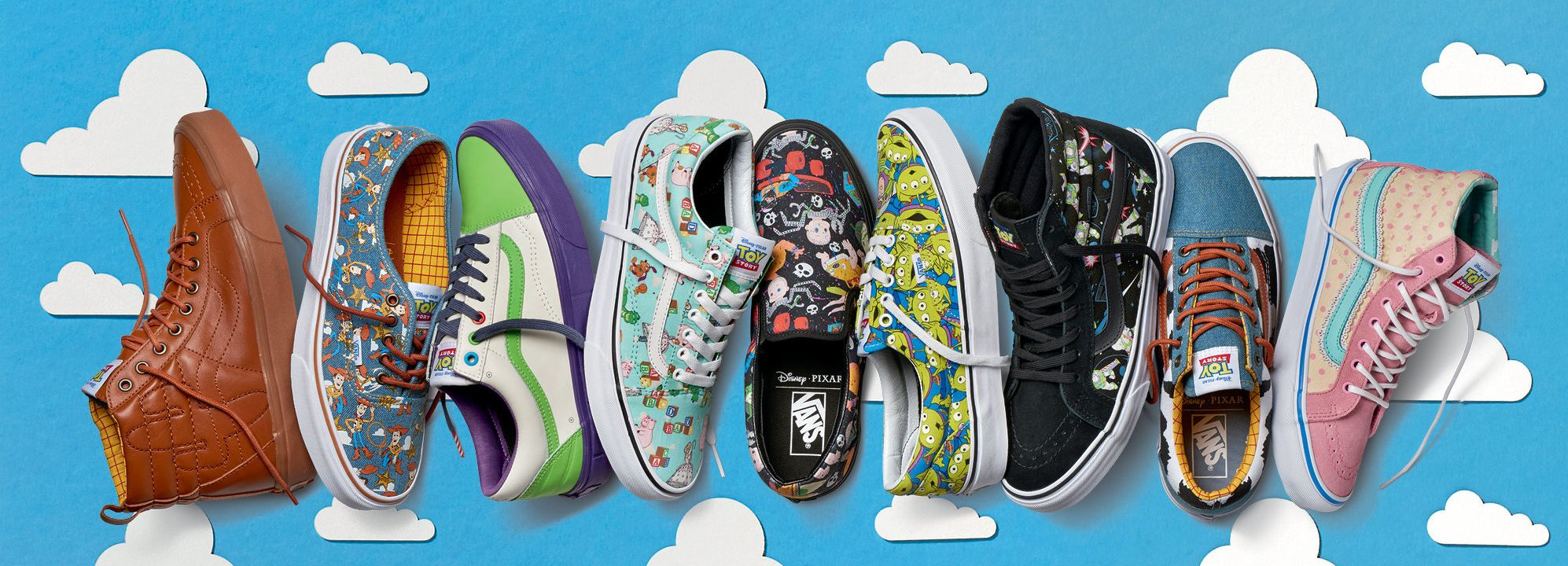 vans shoes toy story