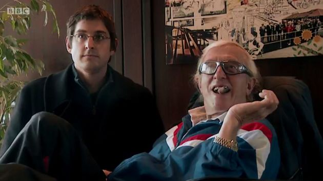 Therouxsaid he thought of Savile as a 'friend' after filming with