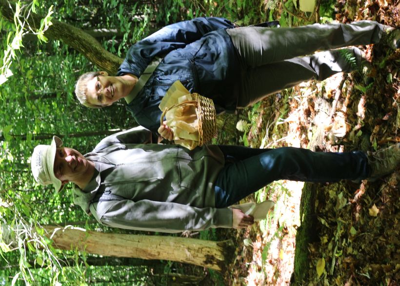 Dana and Saulius grew up picking mushrooms in Lithuania
