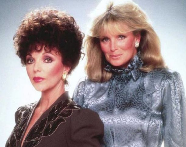 The rivalry between Alexis Colby and Krystle Carrington was at the heart of the