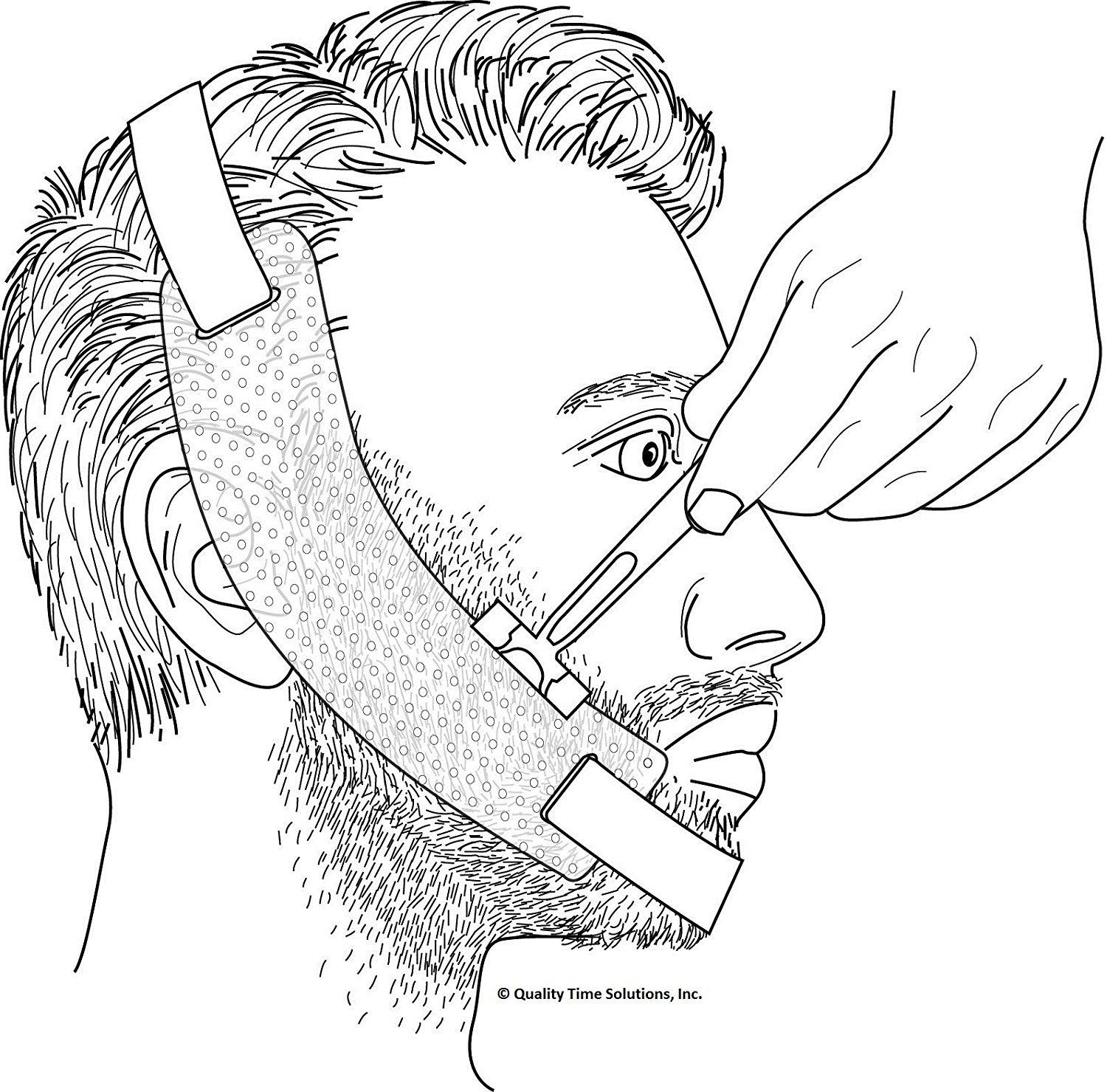 photograph regarding Beard Shaping Template Printable named 8 Weird Mens Grooming Products That Oneself In no way Understood Existed
