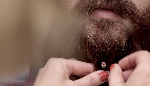 Beard Jewelry Is Here Because Men Deserve Bling,