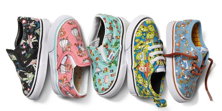 Vans New Toy Story Shoe Collection Goes To Infinity And Beyond