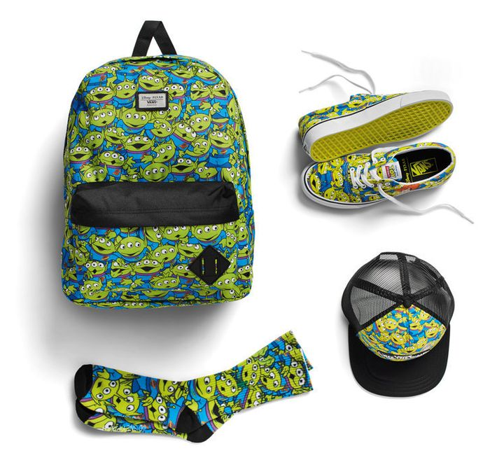 7d17b213316 Vans  New  Toy Story  Shoe Collection Goes To Infinity And Beyond ...