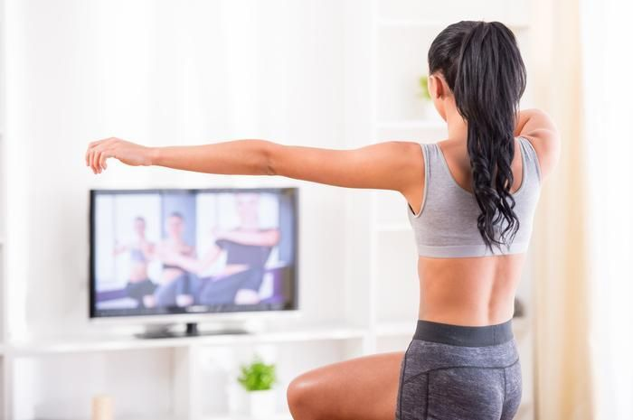 Play a Workout Video Game