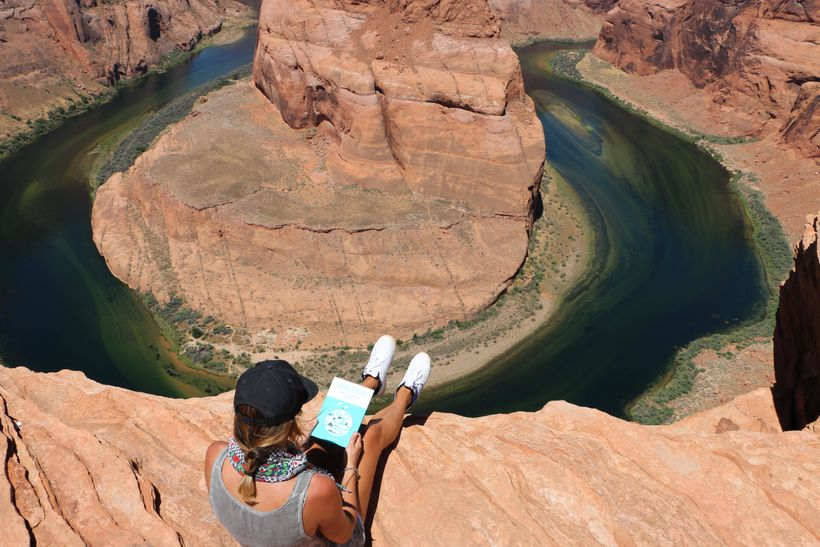 """""""Let your hope be bigger than your fear."""" Horseshoe Bend, USA"""