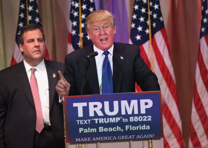 On Super Tuesday, Donald Trump held apress conference at his Mar-a-Lago Club, which would be reimbursedby his cam