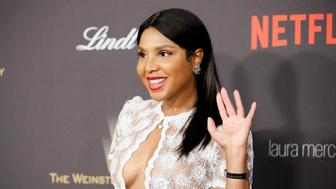 Singer Toni Braxton arrives at The Weinstein Company & Netflix Golden Globe After Party in Beverly Hills, California January 10, 2016.  REUTERS/Danny Moloshok