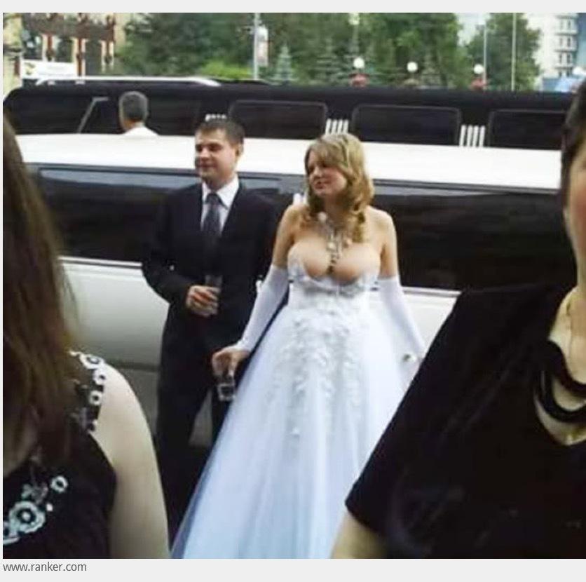 Skimpiest Wedding Dresses