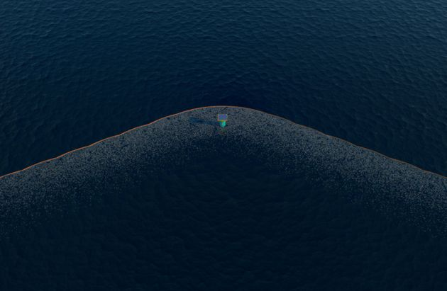 An artist impression of the Pacific cleanup