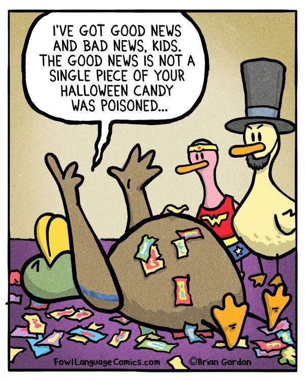 20 comics that sum up halloween for parents huffpost - Show Me Halloween Pictures