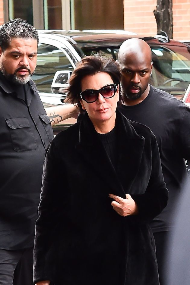 Kris Jenner joined Kim and Kanye at their