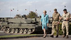 Theresa May Will Let British Military 'Opt Out' Of Human Rights