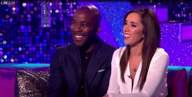 Melvin Odoom and Janette Manrara appeared on 'It Takes
