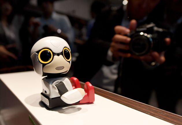 Toyota Unveils Kirobo 'Baby' Robot Designed To Combat