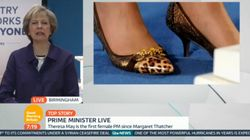 Piers Morgan's 'Point' About Theresa May's Shoes Sparks Sexism